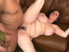 Plump housewife w huge tits screwed