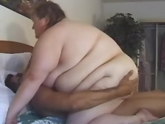 Elephant size obese woman screwed