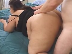 Fat lady crazy fucked by horny man