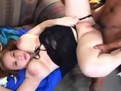Teen fat cutie sucks chocolate cock