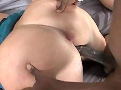Chubby girl fucked by chocolate guy